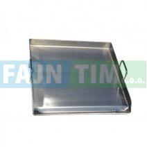 Žar plošča nerjaveča 80 x 44 cm
