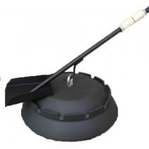 Podpeka Sač fi 400mm z lopatico PLAMEN
