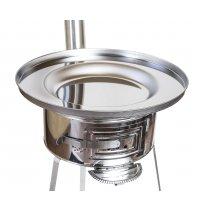 Kotel za peko,   žar na oglje- Kotlovina fi 570 mm INOX