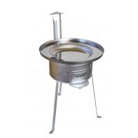 Kotel za peko,  žar na oglje - kotlovina fi 610 mm